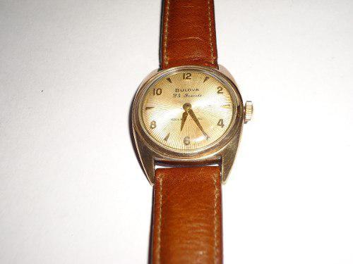 Reloj bulova hombre vintage antiguo a cuerda (leer descr)