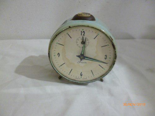 Reloj despertador antiguo marca fornitex