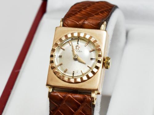 Reloj mujer omega oro 18k macizo antiguo regalo