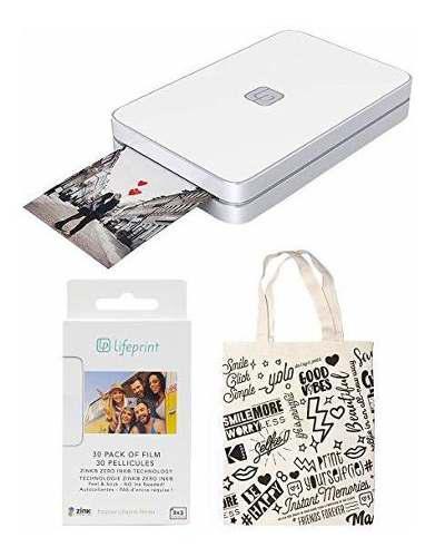 Cámara Lifeprint 2x3 Portable Photo Y Video Impresora W 933