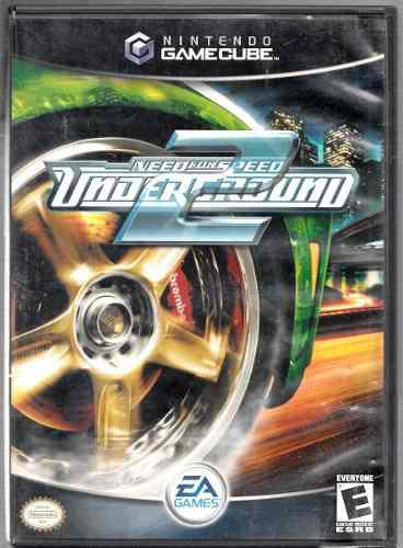 Need for speed under2 / original game cube / con libro / usa