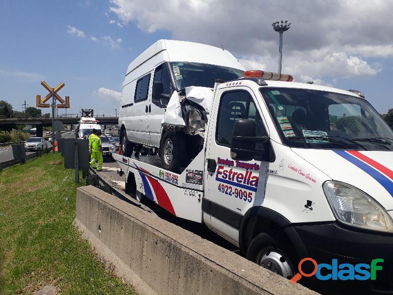 Transporte y remolques de jeep y automoviles a pinamar idas y vueltas con vehiculos averiados