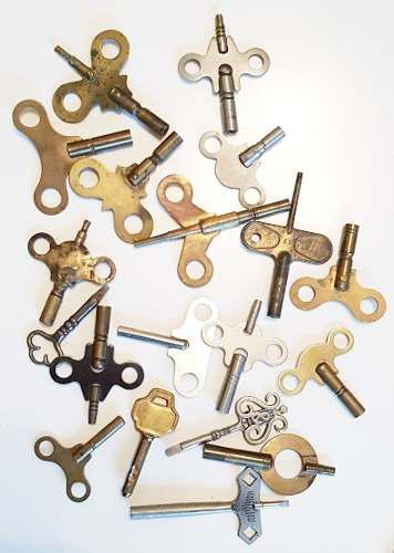 Antigua llave reloj cuerda varias pared mesa pregunte medida