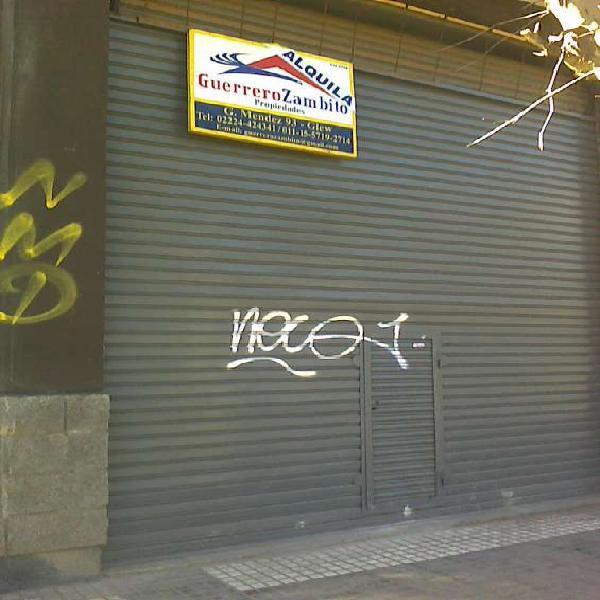 Local comercial sobre avenida en alquiler en longchamps en