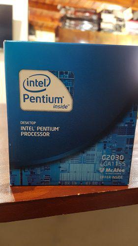 Micro 1155 intel g2030 2 nucleos nuevo cerrado en caja