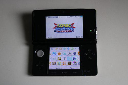 Nintendo 3ds impecable completa