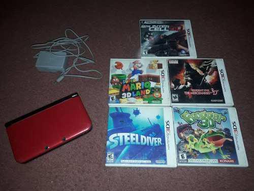 Nintendo 3ds xl completa