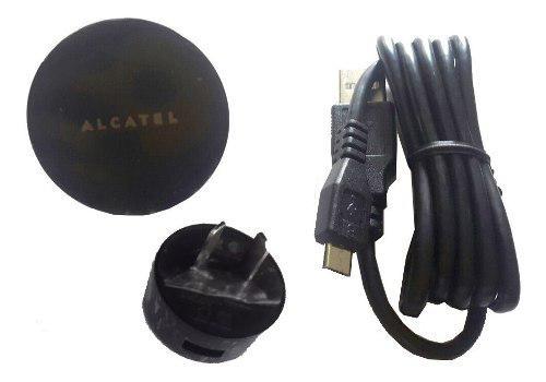 Cargador usb alcatel original one touch uc12ar 5v 1a + cable