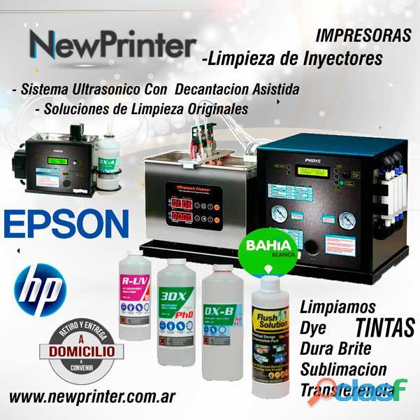 Limpieza inyectores – impresoras bahia blanca – new printer