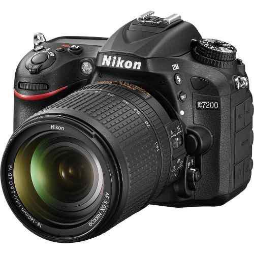 Nikon d7200 new 2020 kit 18-140+ bolso+ 64gb gartia. factur