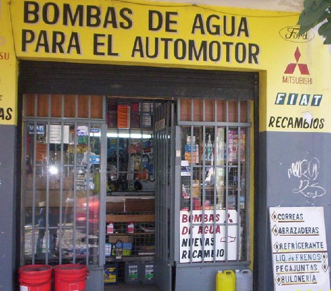 Bombas de agua para el automotor