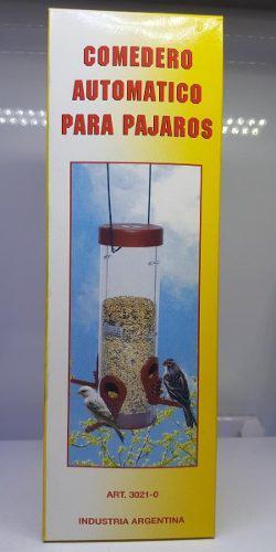 Comedero automático para pájaros marca elpe mascotas