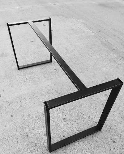 Estructura de hierro escritorio mesa comedor 60x70x120