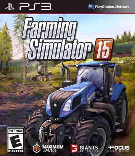 Farming simulator 15 ps3 español digital tenelo hoy!!
