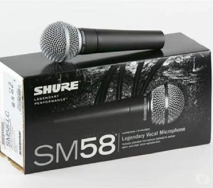 Micrófonos shure sm58