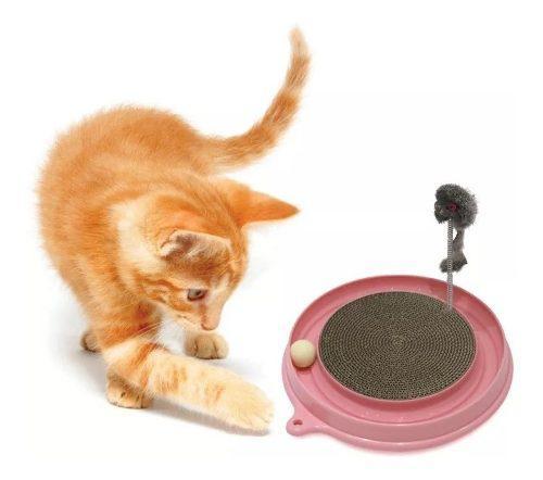 Rascador cat it play 2 en 1 con hierba gatera envios