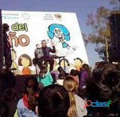 Shows infantiles para cumpleaños en c.a.b.a. mago payaso pintacaritas