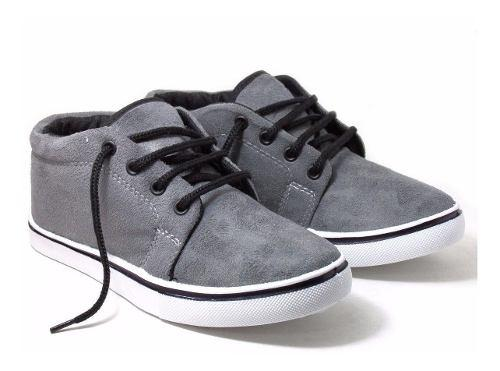 Zapatillas botitas gamuzadas unisex
