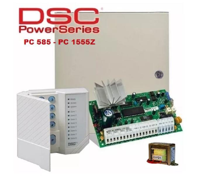 Alarma dsc rx8 inalámbrica instalada alfa21