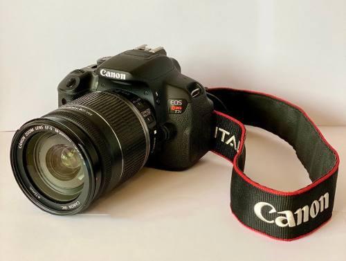 Cámara canon rebel t5i +2 lentes