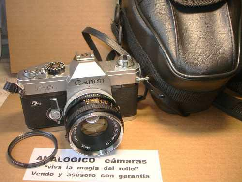 Reflex canon ftb lente orig manual mecan joya garantia4meses
