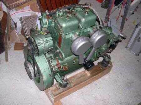 Volvo penta 23 hp con pata diesel motores marinos repuestos