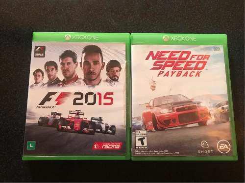 Juegos xbox one.. fórmula 1 y need for speed payback