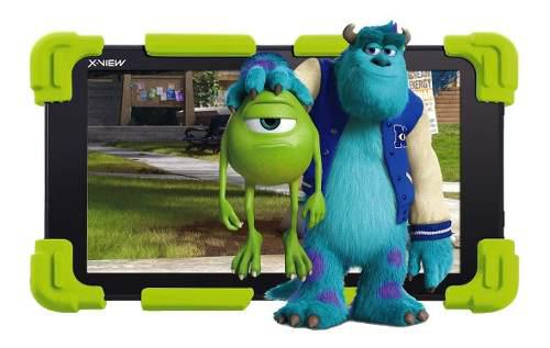 Tablet kids xview neon 7 pulgadas chicos android + garantia