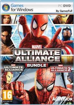 Marvel ultimate alliance bundle pc digital offline (27)