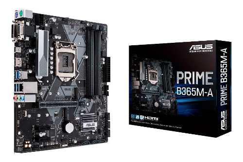 Motherboard asus prime b365m-a 1151 ddr4 intel mexx