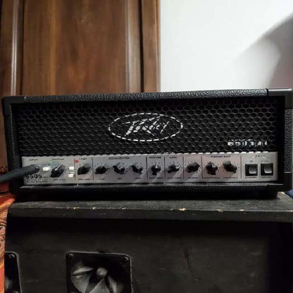 Amplificador valvular peavy 6505 cabezal 20w