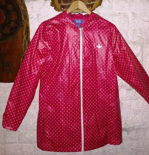 Campera de lluvia adidas® mujer original usa talle m