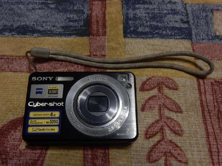 Cámara digital sony cyber shot dsc w120 7.2mp zoom 4x full