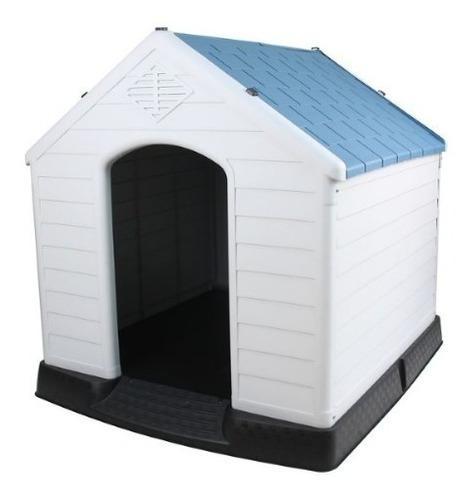 Cucha casa de perro plástica premium 82x75x81cm