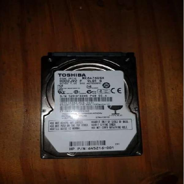 Disco 640gb hdd 2.5 toshiba notebook ps4 ps3 xbox one