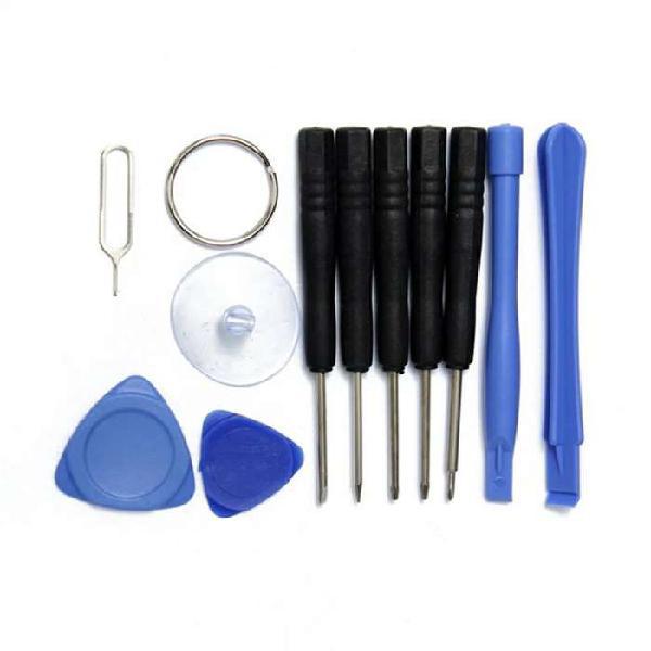 Equipo kit herramientas reparación celulares