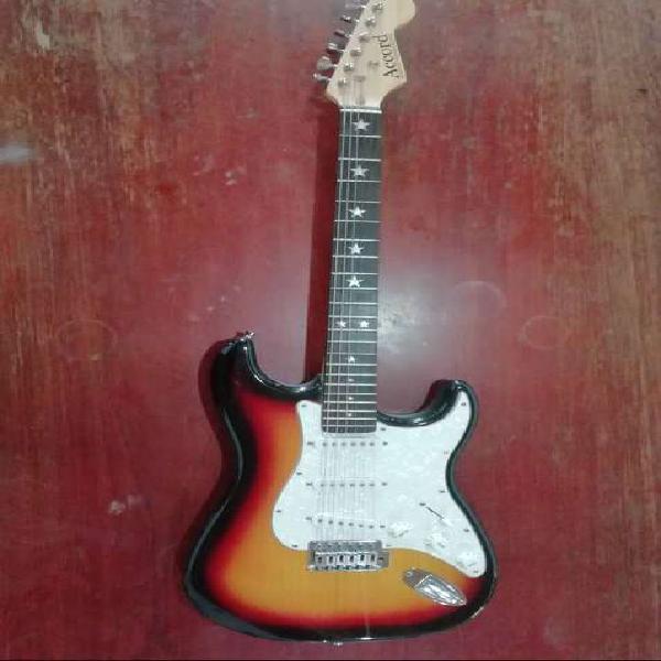 Guitarra eléctrica, amplificador y más!