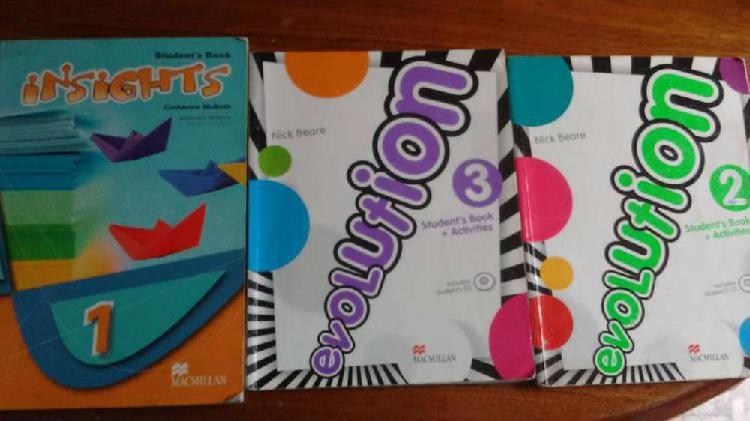 Libros escolares de inglés a partir de $ 350