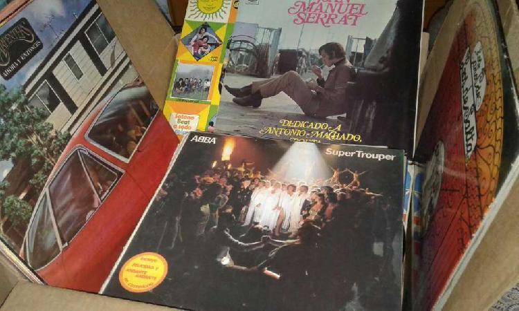 Lote discos de vinilo lp