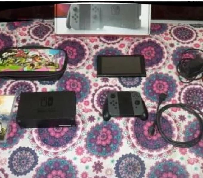 Nintendo Switch 7 juegos Dos controles