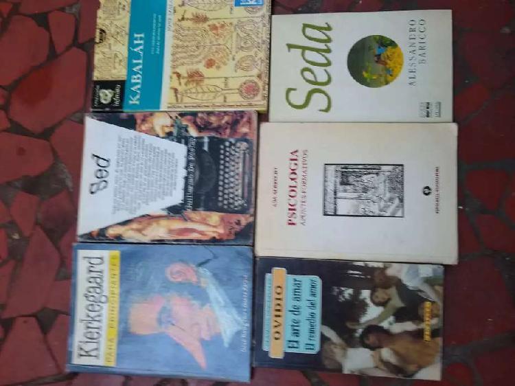 Varios libros clásicos modernos