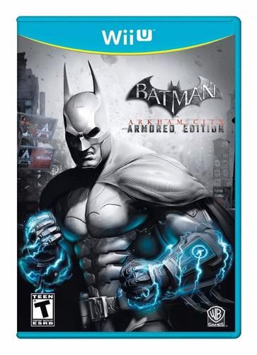 Batman arkham city armored nintendo wii u playking