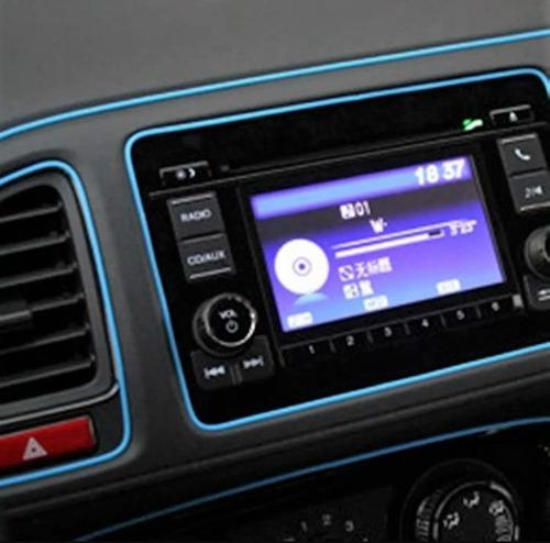 Moldura a presion autos tuning universal+4mts