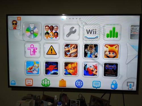 Wii u usada con juegos exclusivos digitales
