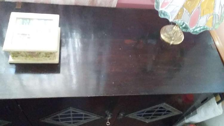 Antiguo bahiut bargueño reformado con vitreaux - sfmpili