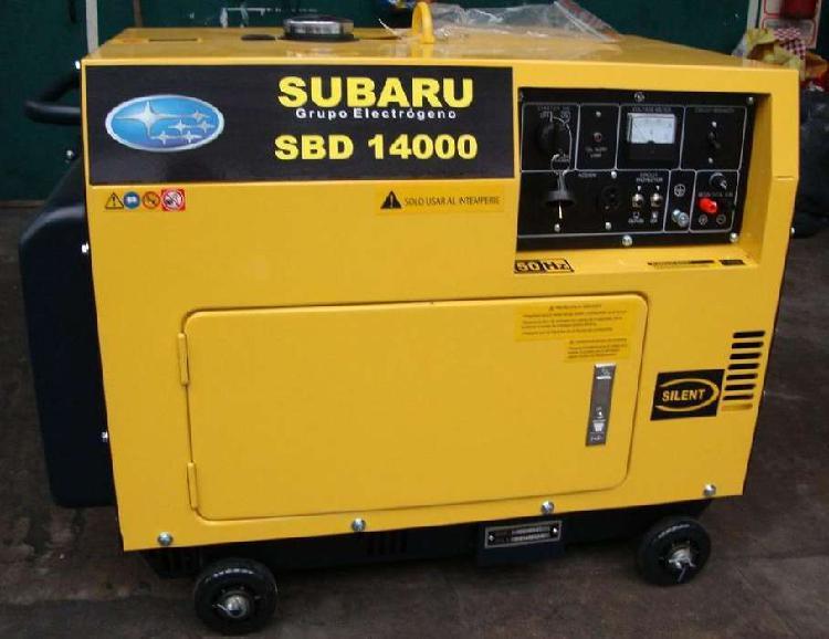 Grupo electrógeno subaru sbd14000 diesel
