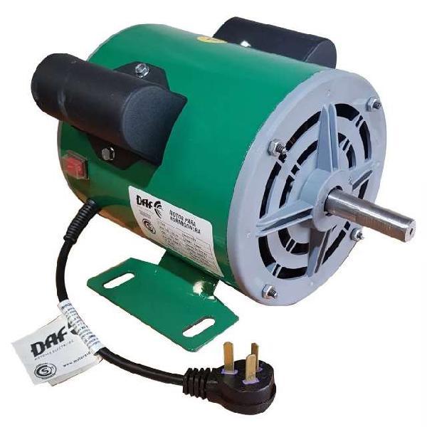 Motor para hormigonera 1 hp 1500 rpm daf nacional