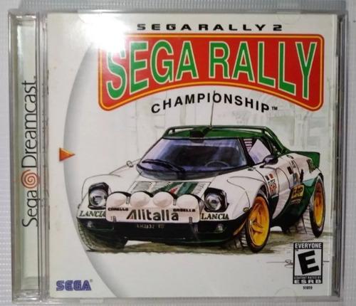 Sega rally championship con caja y mamual p/ sega dreamcast