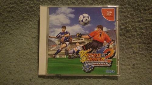 Sega virtua striker sega dreamcast original