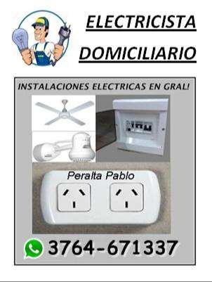 Técnico electricista domiciliario y de obras